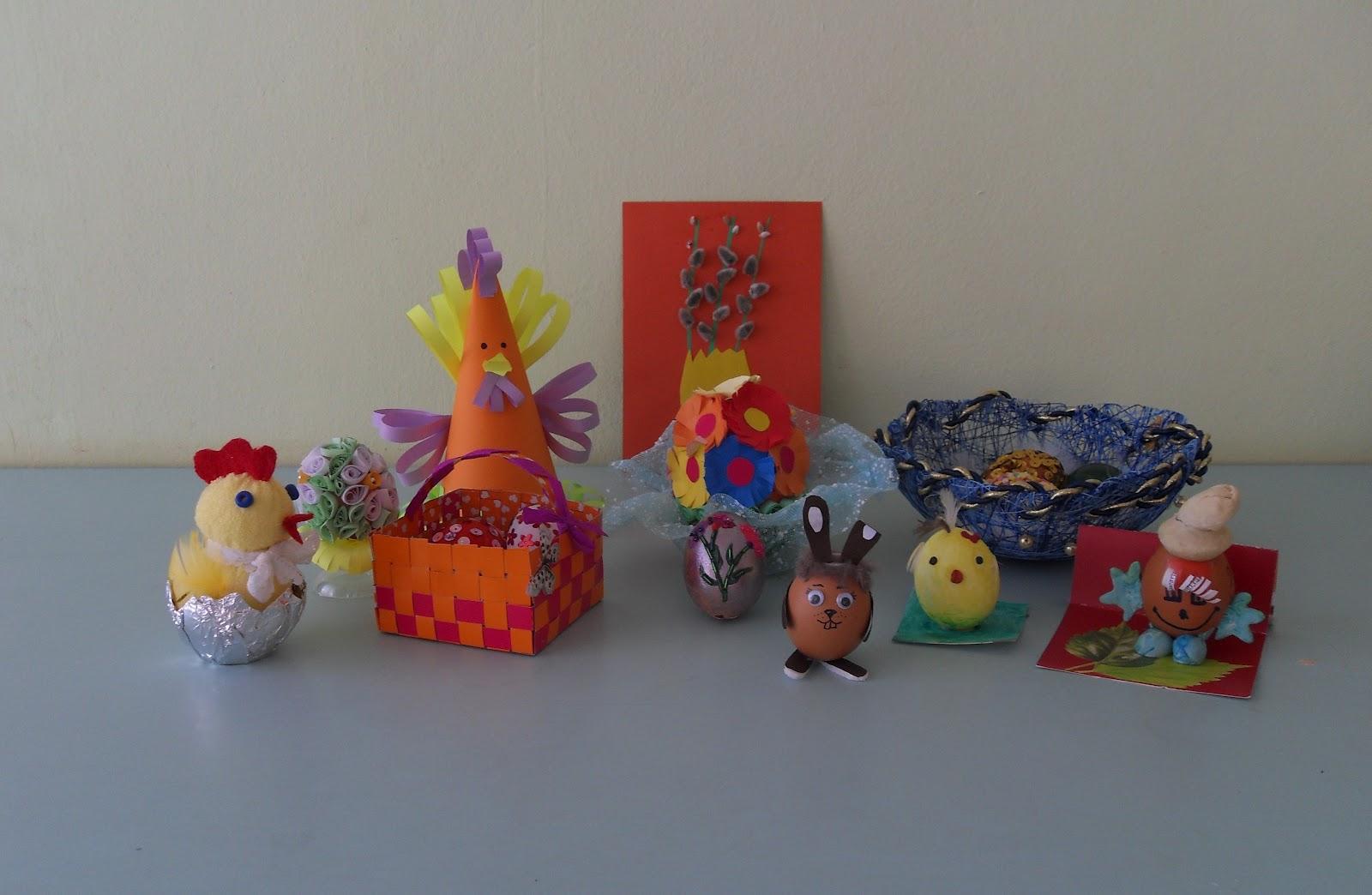 Пасхальные поделки для детского сада фото