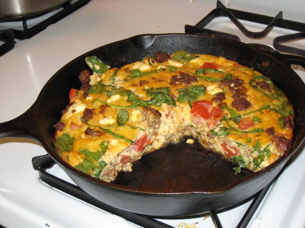 Global Grub: Chorizo Breakfast Frittata