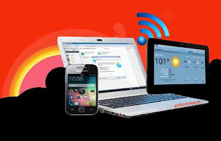 How to share wireless internet connection from android mobiles?