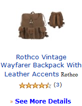 Rothco Vintage Wayfarer Backpack With Leather Accents Rothco