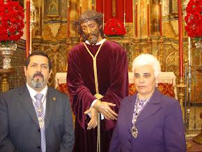 D.Domingo y Dña Antonia diputados de la hdad del Gran Poder