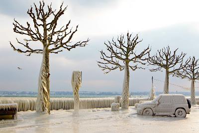 Photoshot/УКРИНФОРМ: Швейцария во льдах