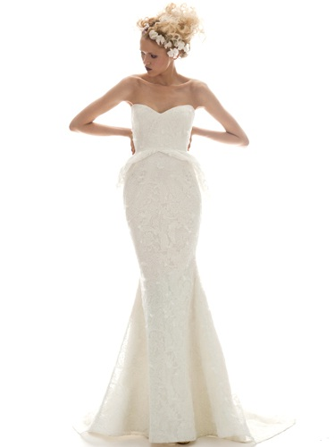 Elizabeth Fillmore 2013 wedding dresses: Isabella