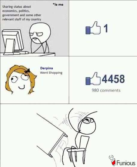 Facebook likes for girls