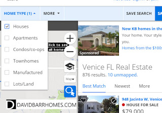 Zillow single family homes for sale in Venice FL
