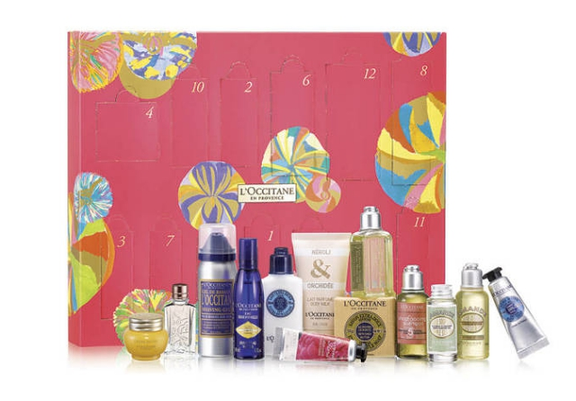 L'Occitane beauty advent calendar 2014 pampering treats from provence