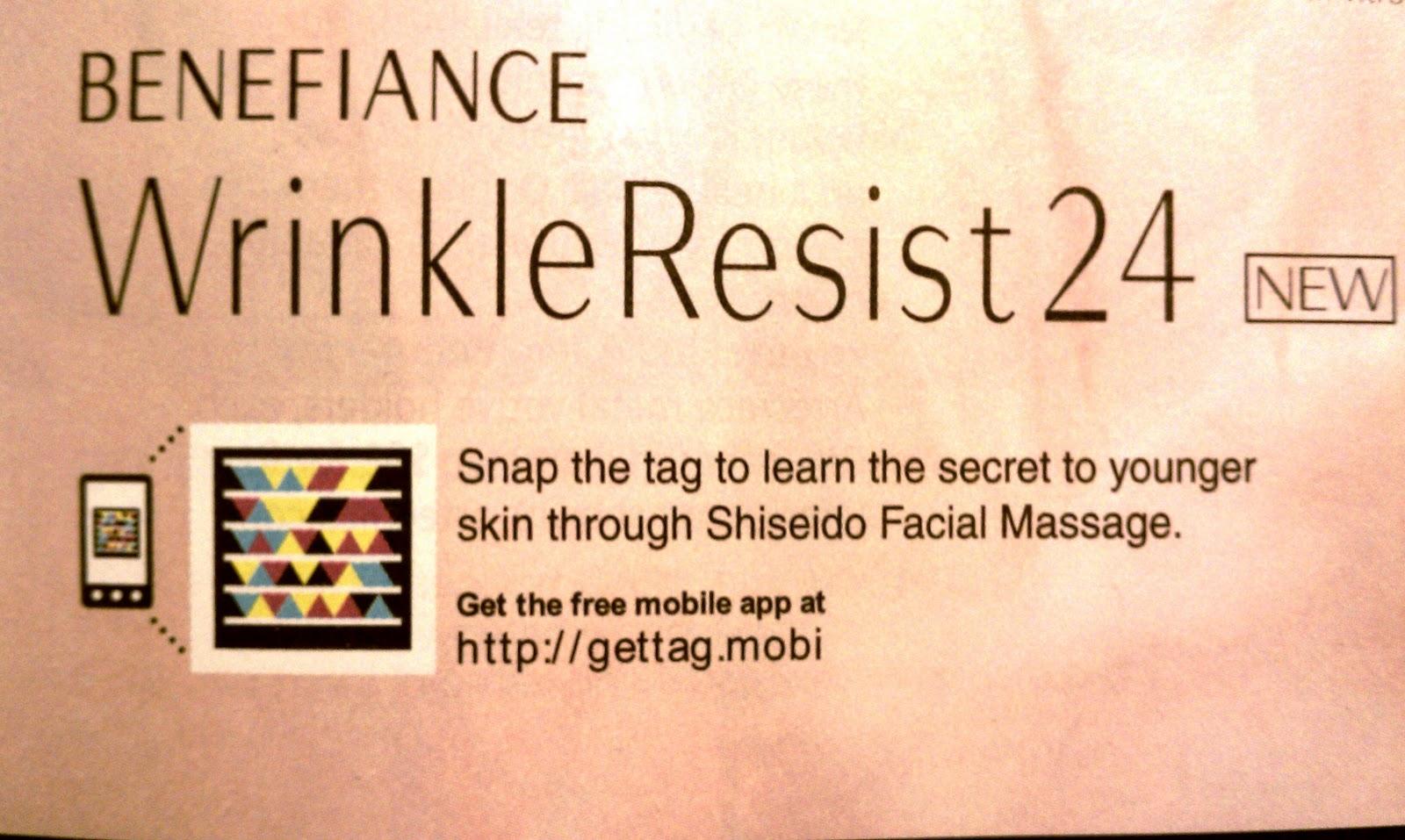 Shiseido uses Microsoft Tag