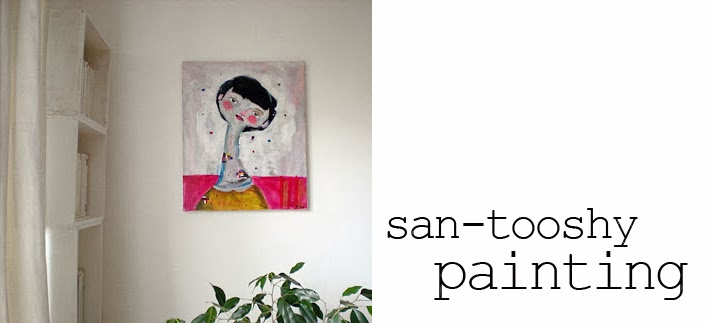 san-tooshy /// painting
