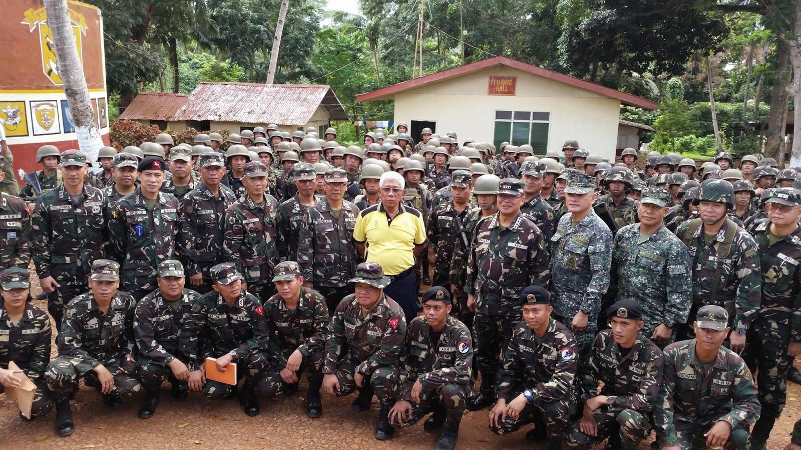 501st Brigade sa Bud Datu, Indanan, Sulu noong ika-30 ng Oktubre 2014