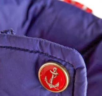 Joules Charmwood vest anchor button