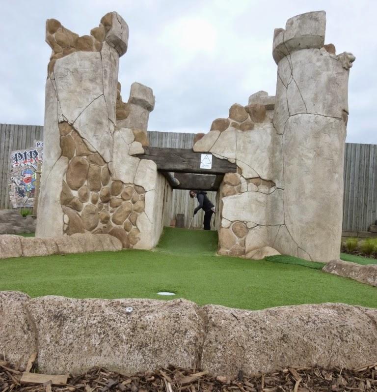Pirate Island Adventure Golf in Castleford