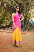 kruthika jayakumar half saree stills-thumbnail-11
