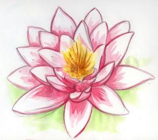 tatuagens de flor de lotus