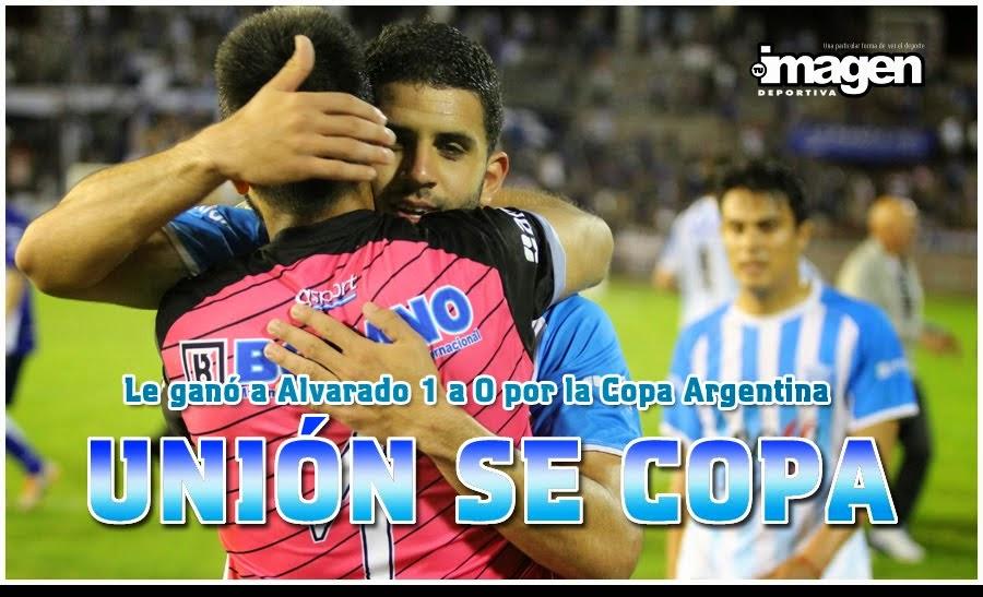 COPA ARGENTINA . UNIÓN 1 ALVARADO 0