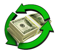 recycling $100 bills
