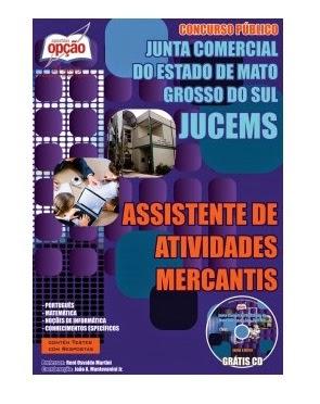Apostila JUCEMS - Junta Comercial de Mato Grosso do Sul 2014