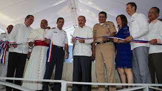 Presidente Danilo Medina inauguró  cuartel CESTUR en Sosua, Puerto Plata