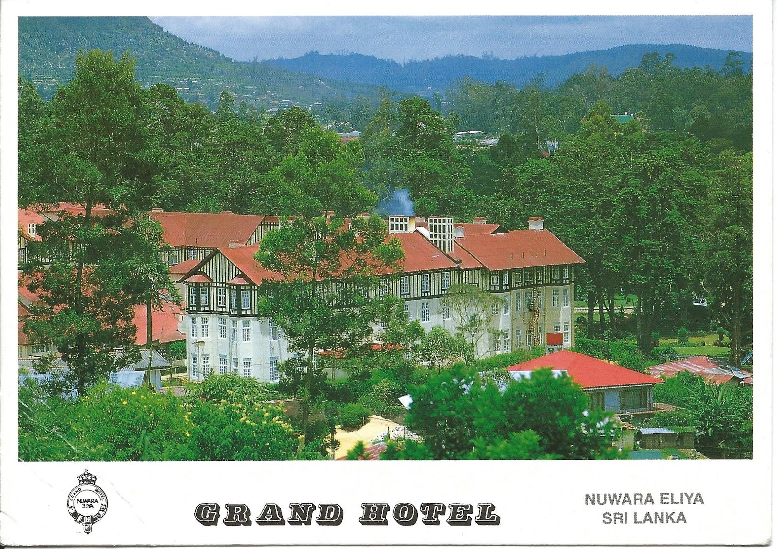 My postcard page sri lanka grand hotel nuwara eluya - Grand hotel sri lanka ...