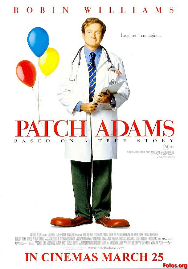 patch adams movie reflection Patch adams questions and answers about his movie patch adams is a doctor who makes his patients laugh question and answers:  when patch adams tries to make his patients fulfill their dreams and make them laugh what did you learn from this movie ans  patch adams questions and answers about his movie tungkol.
