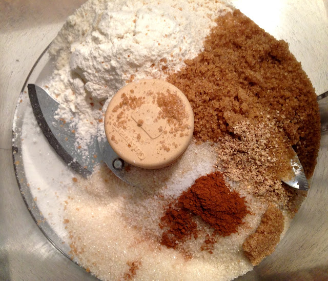 flour_ cinnamon_brown_sugar_food_processor