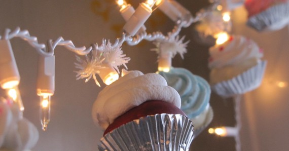 Cupcake String Lights