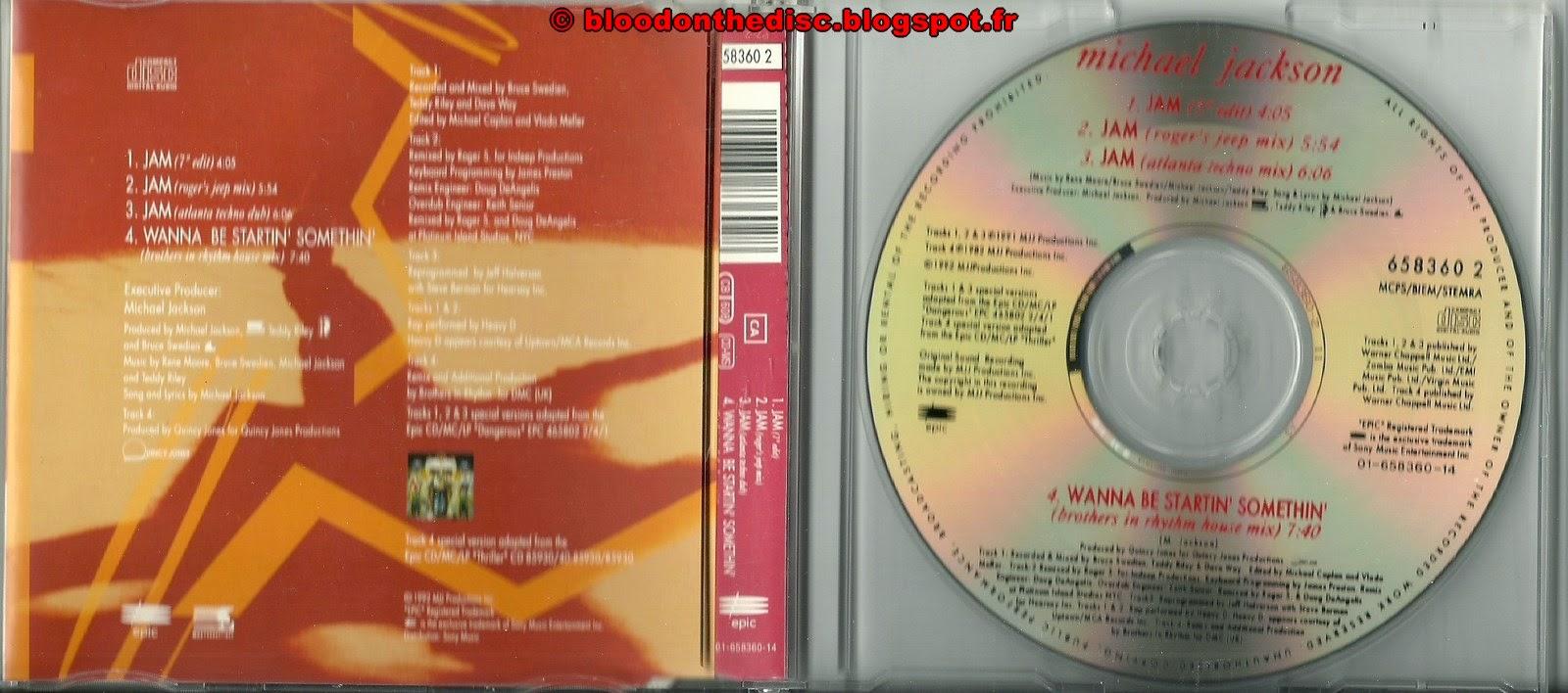Jam Maxi CD Single #1