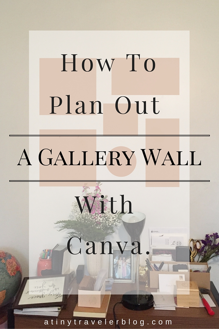 Gallery Wall Planner planning a gallery wall. - a tiny traveler