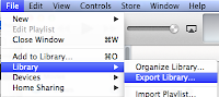 Exporting Libraries and Playlists