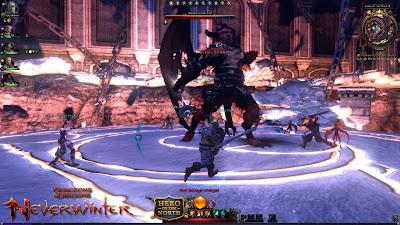 Neverwinter online ОБТ игры