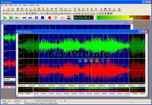 GoldWave 5.70 Full Portable,Phần mềm chỉnh sửa âm thanh chuyên nghiệp