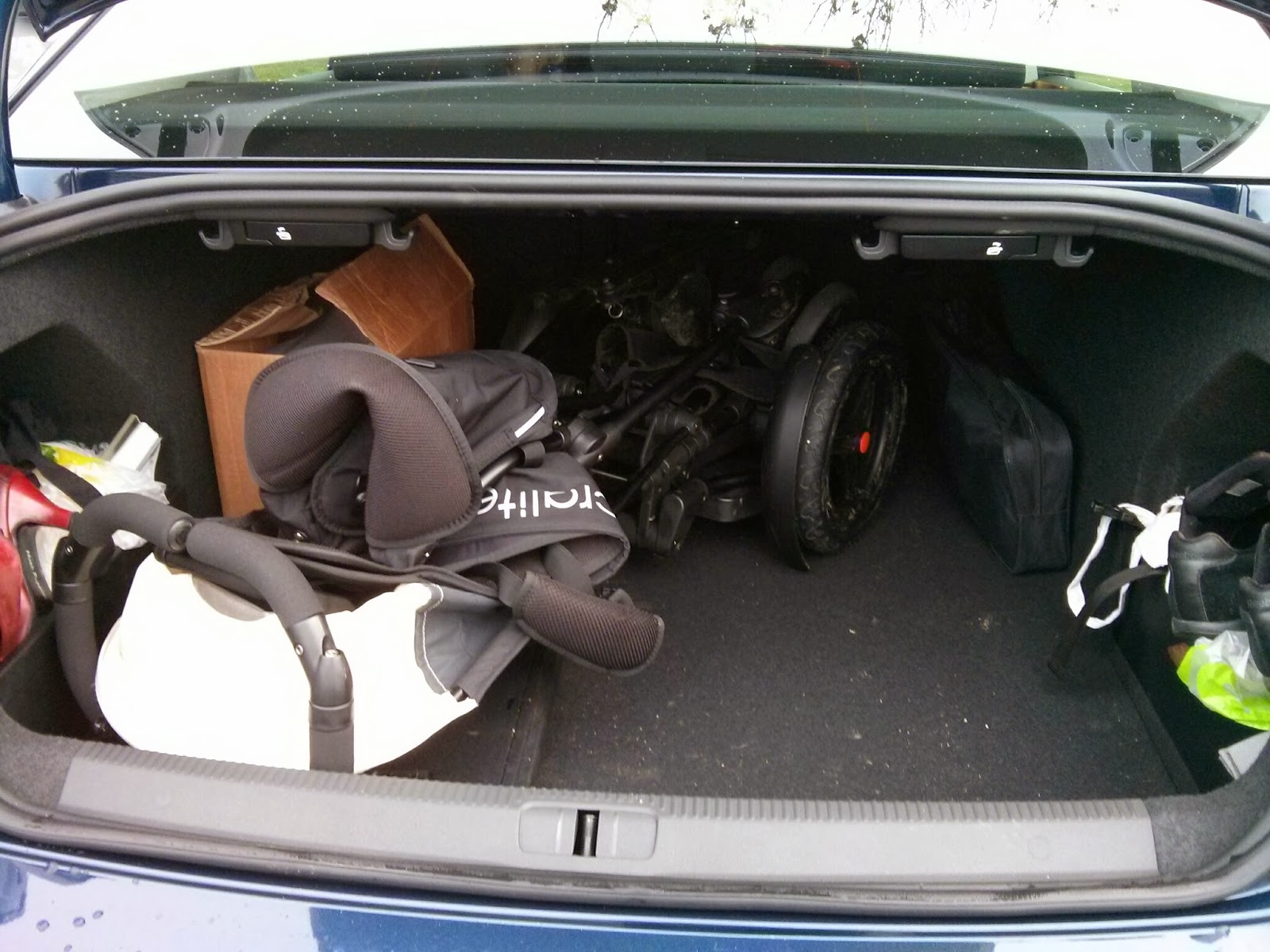 twofold in the boot