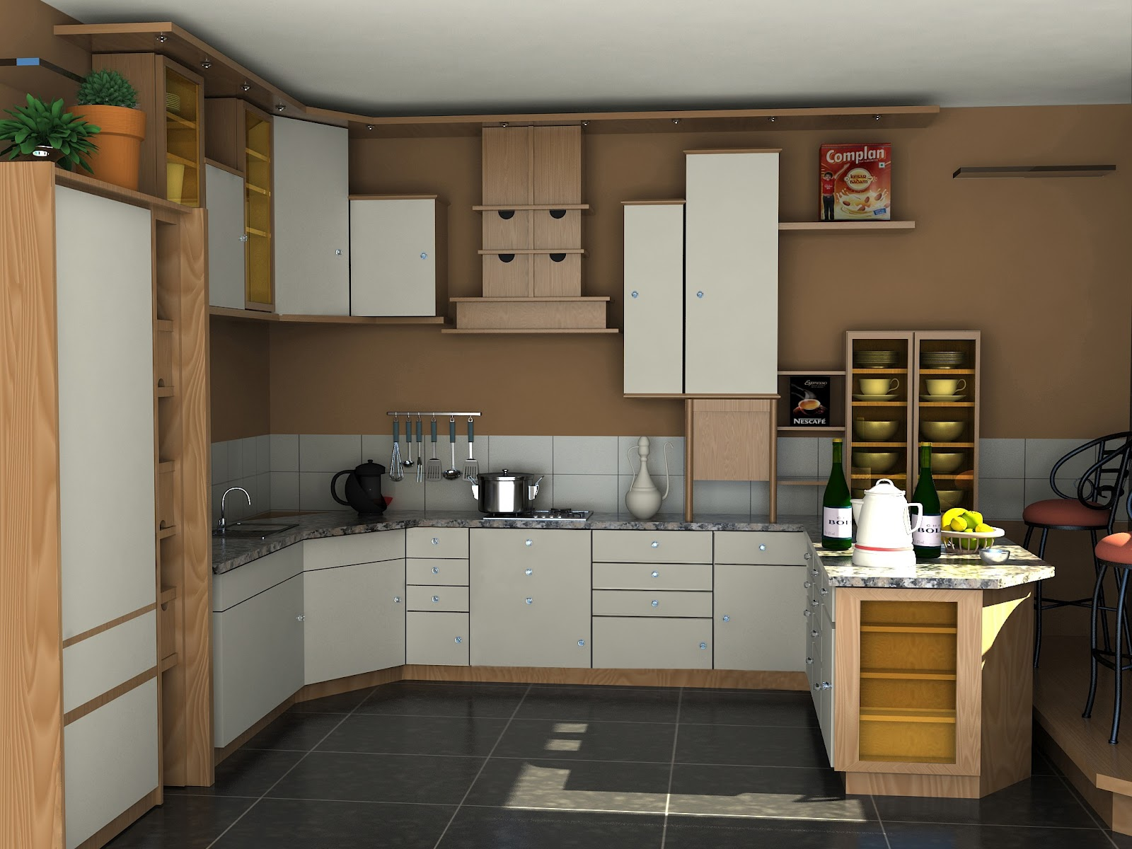 Pleasing Sunnys Blog Kitchen Cabinet 3D Max V Ray Download Free Architecture Designs Scobabritishbridgeorg