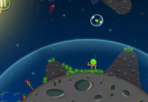 Angry Birds Space 3 Angry Bird Space is now available for download