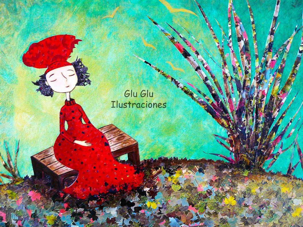 Glu Glu Ilustraciones