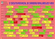 NUEVO Calendario Carreras 2017-2018