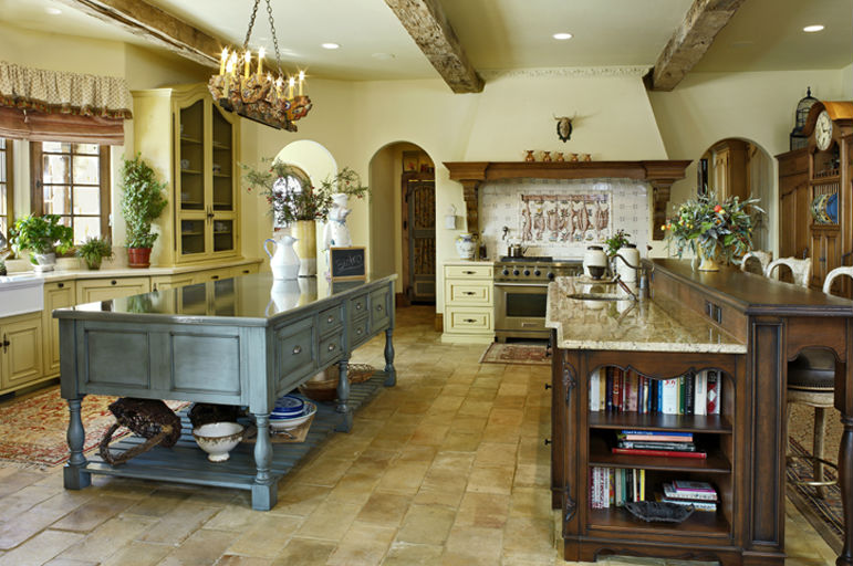 Foundation dezin decor random designs for Country cottage kitchen design
