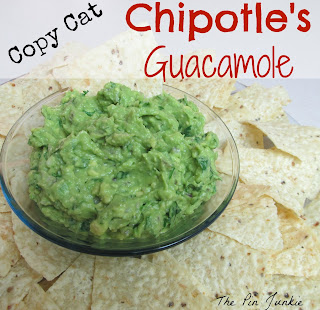 copy-cat chipotle's guacamole
