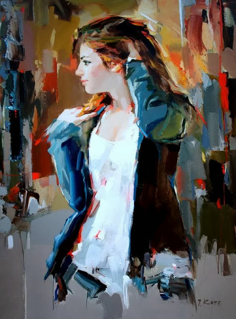 Stunning Paintings by Josef Kote