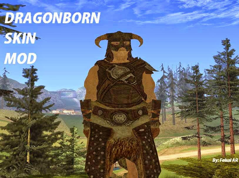 dragonborn gta mod