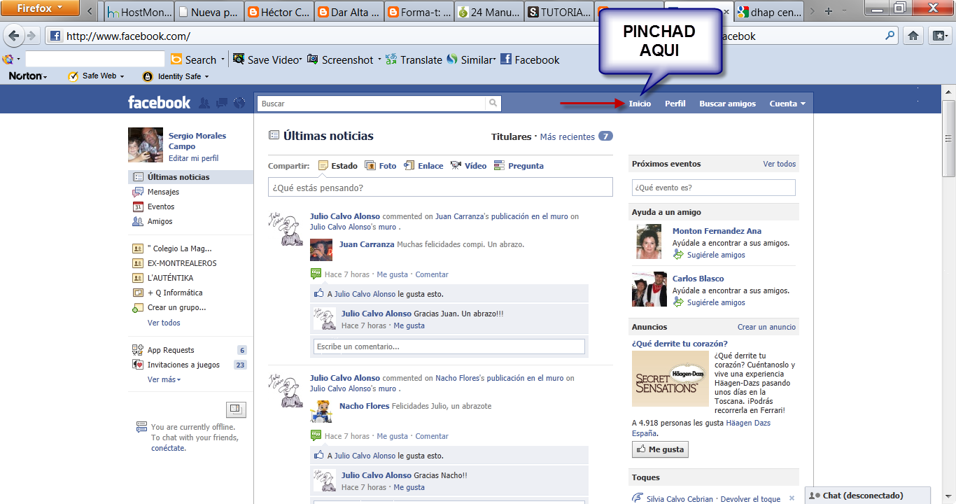 Forma t crear grupo facebook for Grupo facebook