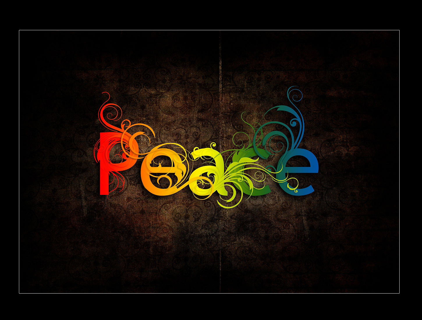 colorful peace graffiti colorful background wallpapers by