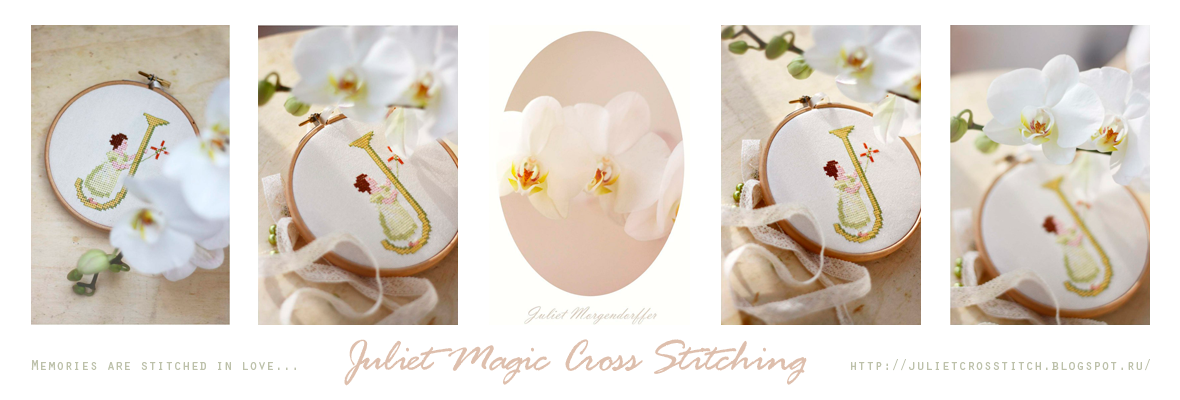 Juliet Magic Cross Stitching