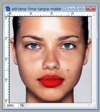 pic cara belajar how to create tutorial photoshop pemula membuat lips color digital make up 4