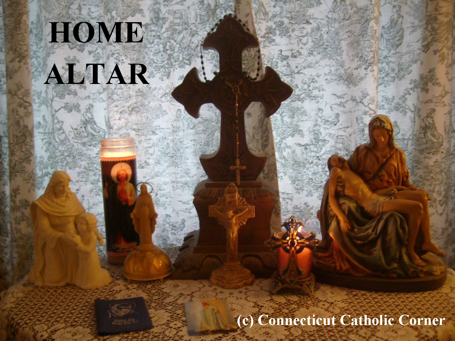 Pictures of prayer altars for your home.