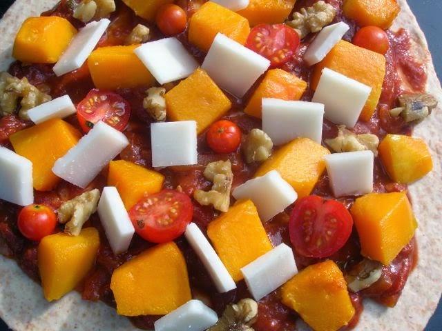 Squash Pizza Recipe