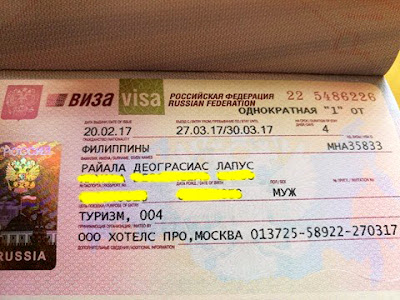 Russian Visa Our Russian