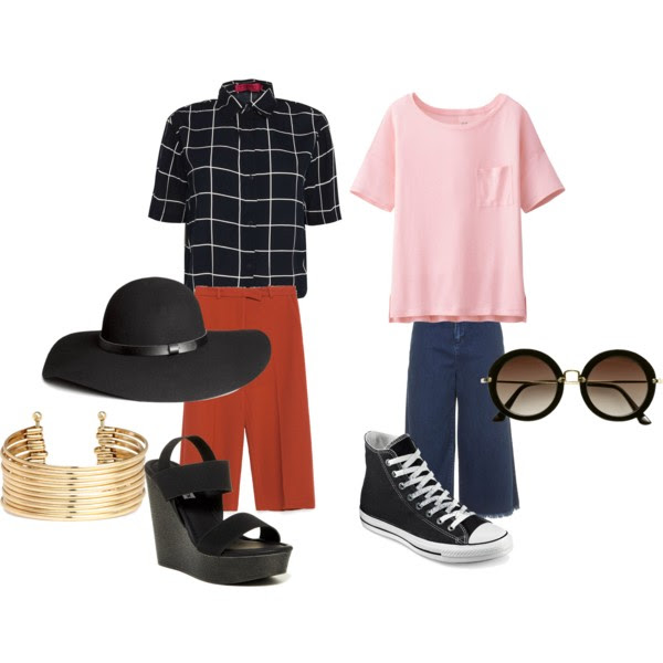 OUTFIT INSPIRATION - BOXY TOPS AND CULOTTES