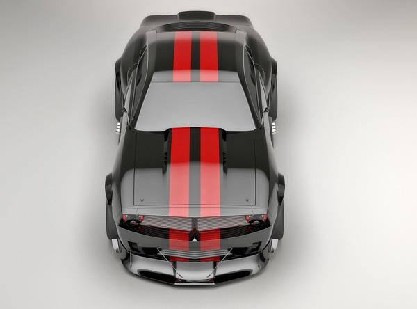 Pontiac Firebird TT Black Edition Concept top