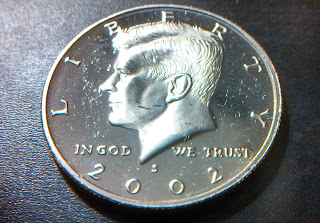 2002 S Half Dollar Kennedy Proof coin
