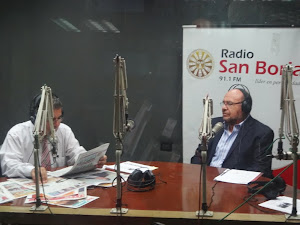 Entrevista en radio San Borja
